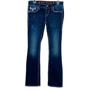 Rock Revival Betty Bootcut jeans size 27